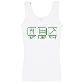 Eat Sleep Mine - Womens Vest