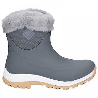 Muck Boots Apres Arctic Grip Slip On Boot Grey