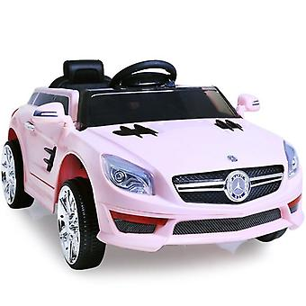 Mercedes Electric Ride On Car - SLK S698 Style Kids Car - 12v Motor - Pink