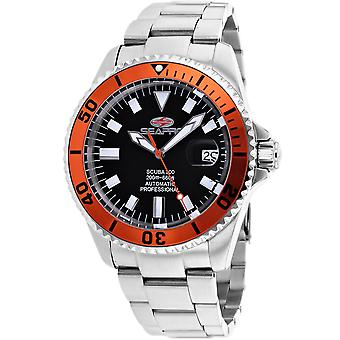 Seapro Men's Scuba 200 Black Dial Watch - SP4313