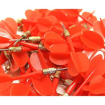 144 Pack rood metalen Tip Brass ballon Darts