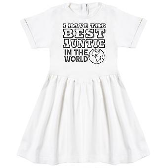 لدي أفضل العمة في العالم الطفل اللباس