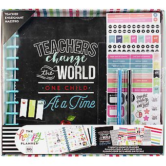 Happy Memory Keeping 12-Month Undated Planner Box Kit-Teachers Change The World