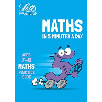 Letts Maths in 5 Minutes a Day Age 78