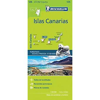 Iles Canaries  Zoom Map 125 by Michelin