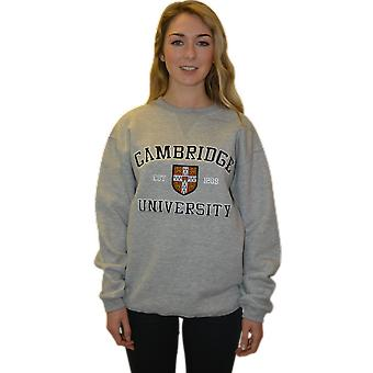 Licensed cambridge university™ unisex sweatshirt sports grey colour