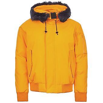 Kenzo Padded Fur Hooded Parka Jacket