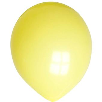 No 10 Balloons. Yellow.
