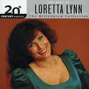 Loretta Lynn - Best of Loretta Lynn-Millenniu [CD] USA import