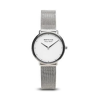 Uhr Bering 15730-004 - Helles Stahlzifferblatt grau Mailänder Stahlarmband