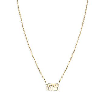 Rosefield JMDNG-J051 necklace and pendant - IGGY Necklace Yellow Brass Gold Droplets Collection