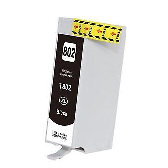 Schwarz kompatible Inkjet Kartusche Ersatz für 802XL