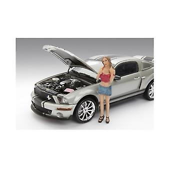 Female Monica Figure For 1:18 Diecast Model Cars par American Diorama