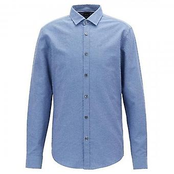 Boss Green Hugo Boss Rikki Long Sleeve Shirt Blue 480 50403835