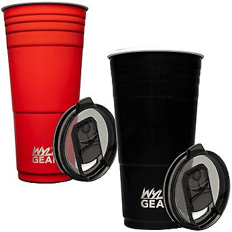 Wyld Gear 32 oz. Insulated Stainless Steel Party Cup Tumbler