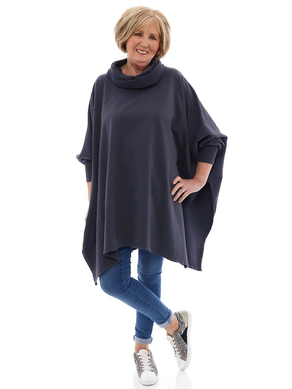Made In Italy Cadney Cowl Neck Tunic