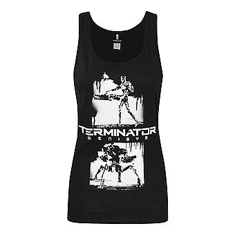 Terminator Genisys Graffiti Women's Vest