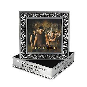 The Twilight Saga New Moon Jewellery Box Metal Wolf Pack