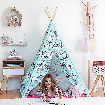 Tyrrell Katz Unicorns design Teepee Play Tent