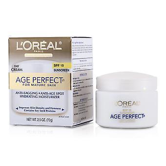 Ihoosaaminen ikä täydellinen kosteuttava kosteusvoide spf 15 (kypsälle iholle) 154032 70g / 2.5oz