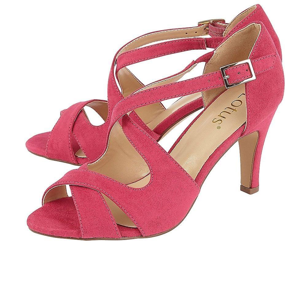 Lotus Sadia Dame Strappy Heeled Sandaler
