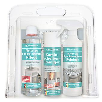 HOTREGA® natural and soapstone oven care kit