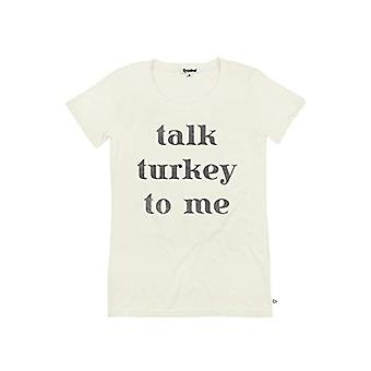 TipsyElves Donne's Parlare Turchia a me Thanksgiving Camicia: M