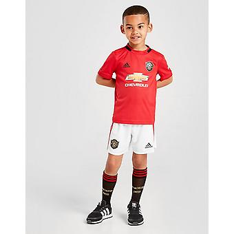 Nowy adidas Kids' Manchester United 19/20 Home Kit Red