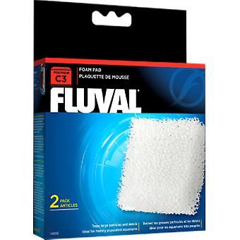 Fluval FLUVAL C3 FOAMEX (Vissen , Filters en waterpompen , Filter materiaal)