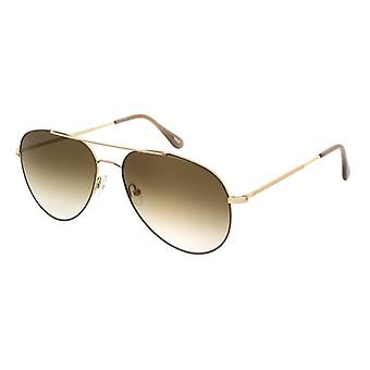 Andy Wolf Poe J Gold/Brown Gradient Sunglasses