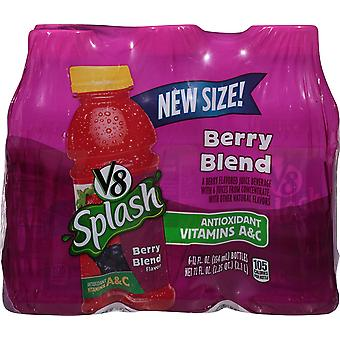 V8 Splash Berry Blend-( 354 Ml X 12 Bouteilles )