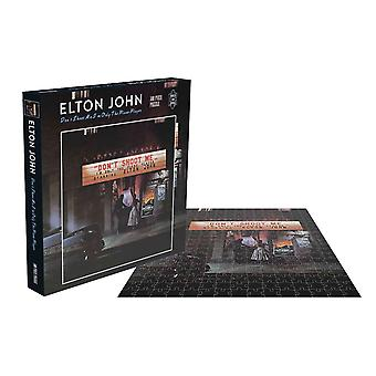 Elton John Jigsaw Puzzle Dont Shoot Me Im Only The Piano Player new 500 Piece