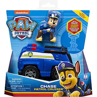 Paw Patrol 6054118 Chase's Patrol Cruiser Vehicle with Figure