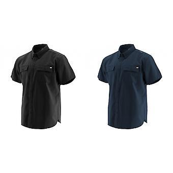 Caterpillar Mens Button Up Short Sleeve Work Shirt