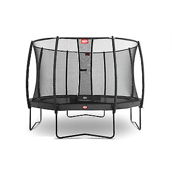 BERG Champion Regular Grey 430 14ft Trampoline Grey With Safety Net Deluxe