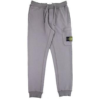 Stone Island 64551 Fleece Pants Charcoal V0063