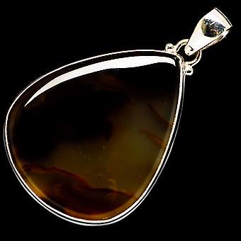 مونتانا Agate قلادة 2 & (925 الجنيه الاسترليني الفضة) - اليدوية بوهو خمر مجوهرات PD723506