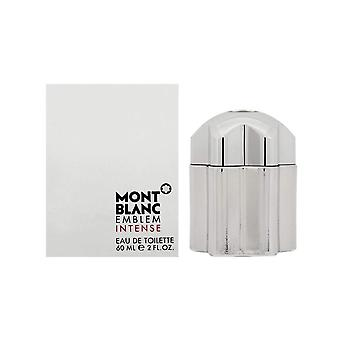 Emblème du Mont Blanc Intense Eau de Toilette Spray 60ml