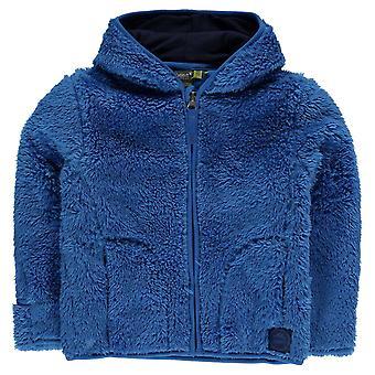Gelert barn Yukon Hood Fleece Unisex spädbarn Full Zip Top tröja Jumper långa