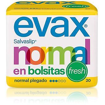 Evax Normal Salvaslip Fresh Bags 20 Units
