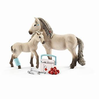 Schleich 42430 Horse Club Hannah'S Premiers soins