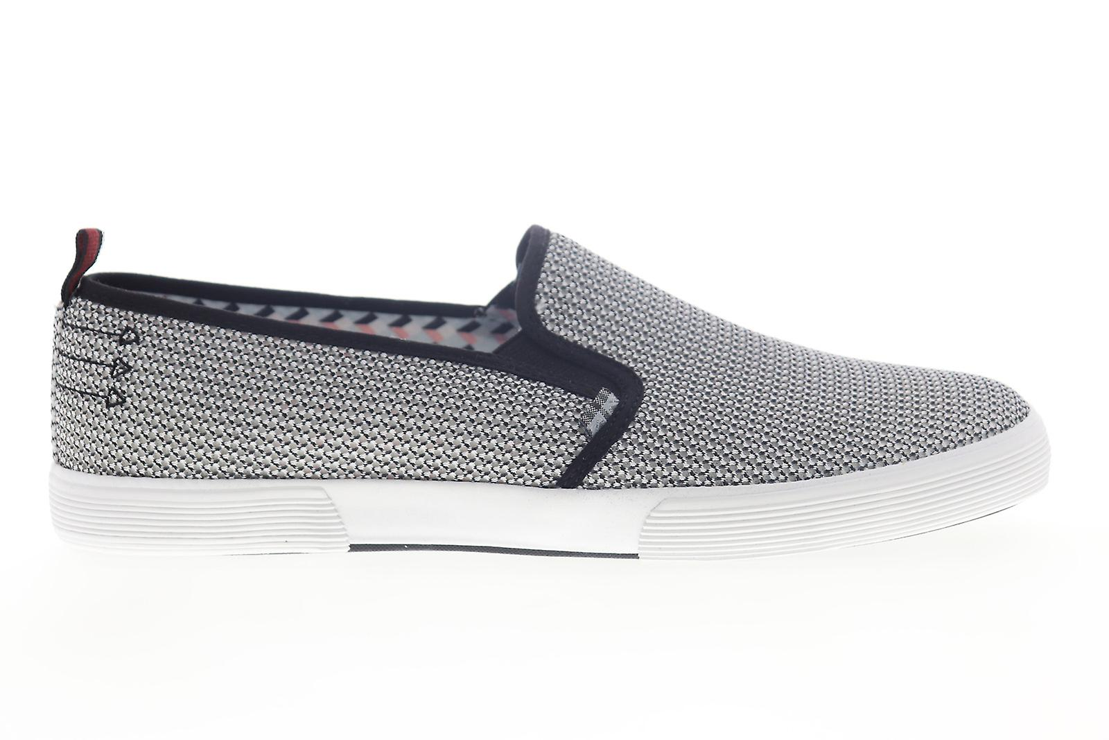 Ben Sherman Bristol Slip On Mens Black Mesh Sneakers Chaussures