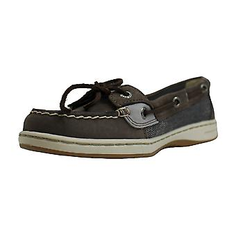 Sperry Womens Angelfish Boat Fabric Closed Toe Boat Shoes