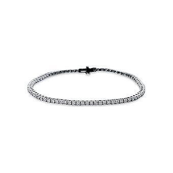 Bracciale Bracciale Diamante - 18K 750/- Oro Bianco - 2.5 ct. - 5B537W8-1