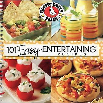 101 Easy Entertaining Recipes by Gooseberry Patch - 9781933494678 Book