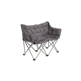 Outwell Relax Sardis Lake Foldable Camping Chair Grey