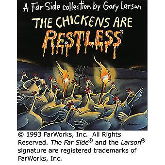 Chickens are Restless by Garry Larson - 9780836217179 Book