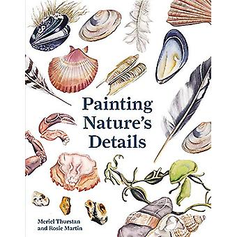 Painting Nature's Details by Meriel Thurstan - 9781849945455 Book