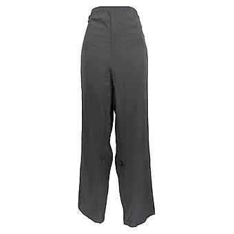Magellan Women's Pantalones Pull-On Cintura elástica negro