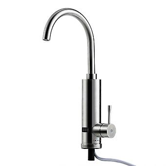 360° Instant Electric Faucet Tap Heater Hot Water LED Display Bathroom Kitchen